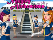 Naughty Air Hostess