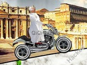 Pope Ride That Bike Hacked