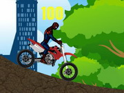 Spiderman Bike Racer Hacked