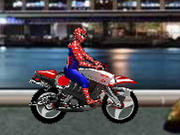 Spiderman Biker Hacked