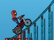 Spiderman Combo Biker Hacked