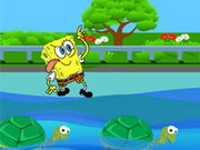 Spongebob Cross The River Hacked