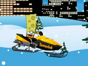Spongebob Snowmobile Hacked