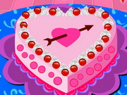 Play Valentine Cake Decoration