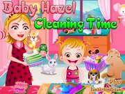Baby Hazel Cleaning Time Walkthrough