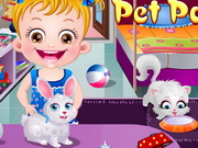 Baby Hazel Pet Party Walkthrough