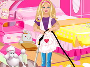 Barbie Cleaning Slacking