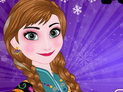 Frozen Princess Anna Perfect Makeover