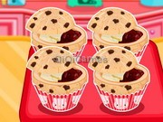 Hello Kittys Choc-Chip Jelly Muffins