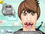 Justin Bieber At The Dentist