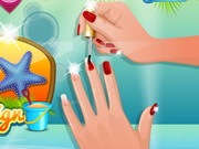 Nail Studio Beach Design