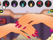 Polly Pocket Manicure Makeover