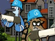 Regular Show Military Zone