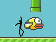 Flappy Spider Stickman 3