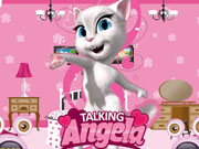 Talking Angela Room Decor