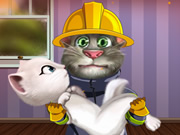 Tom Become Fireman 2