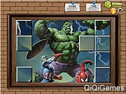 Photo Mess - Hulk With Friends