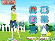 Gardener Girl Dress up