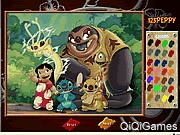 Lilo and Stich Online Coloring