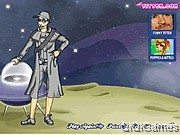 Space Boy Dress Up Game