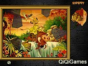 Puzzle Mania Lion king