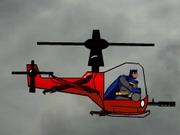 Бэтмен Вертолетное шоу